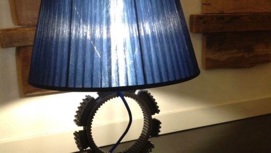 ideazione e progettazione design lampada da tavolo FB 66