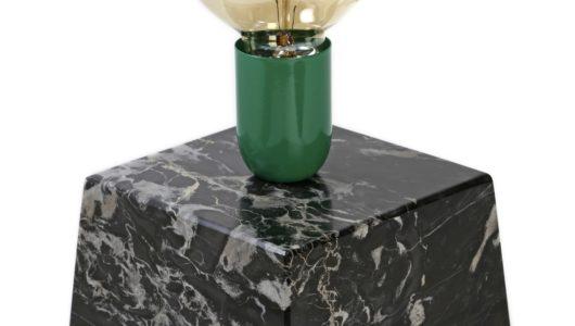 progettazione design lampada da tavolo artigianale 50 FB light works